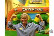 Parents Can Play too! / At #ScootersJungle we realize that we tend to bring the #kid out of everyone and every age! Conquer our #ScootersJungleBigSlide or famous #Zipline. At Scooter's Jungle we welcome #KidsOdAllAges! http://www.scootersjungle.com