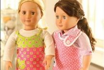 Doll & Doll Clothing Patterns / Doll patterns and doll clothing patterns.