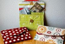 Wallet & Accessory Patterns / Wallets, tablet covers, organizers, accessories and more!