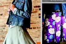 Skirts / Skirt patterns.