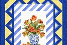 Panel Quilts / Quilt patterns that use fabric panels and large scale prints.