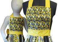 Apron Patterns / Adult and children apron patterns.
