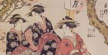 Scrolls and paintings from Edo Japan / During the Edo period in Japanese history, the nation has closed its doors to foreign trade and was ruled by the Tokugawa shoguns, from 1603 to 1868.