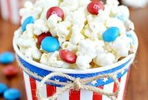 Celebrate + World Cup Soccer / For the soccer-loving kid in your house. This board is full of food and decorations for the perfect patriotic soccer party. Go USA!