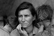 Dorothea Lange's Photos on Wikimedia Commons / Dorothea Lange (May 26, 1895 – October 11, 1965) was an influential American documentary photographer and photojournalist, best known for her Depression-era work for the Farm Security Administration (FSA). Lange's photographs humanized the consequences of the Great Depression and influenced the development of documentary photography. All photos public domain. See them all: https://commons.wikimedia.org/wiki/Category:Dorothea_Lange