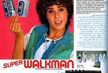 walkman moodboard
