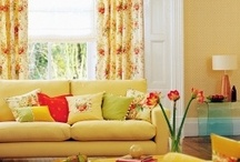 Living Room Designs / Enjoy these beautiful photos and become inspired to create your unique home interior. Learn some simple tricks and advice for the living room at http://www.DecoratorFiles.com/LivingRoomIdeas.html