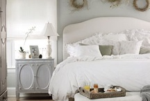 Bedroom Inspirations / Beautiful Bedroom Design Ideas to create the private space that suits you, or find inspirations for guest bedrooms and family members. Learn more about bedroom design and decoration at  http://www.DecoratorFiles.com/BedroomDecoratingIdeas.html