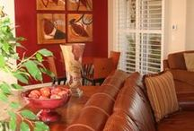 Living room ideas / by Angie Smith