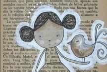Ilustraciones / by Ana Barrientos