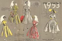 Vintage Patterns & Fashion / Vintage sewing patterns, vintage fashion, and other fun stuff / by Cynthia Fernald