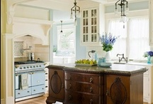 Kitchens to Love / Kitchen decorating ideas. We spend so much time in the kitchen, why not create a space that you love!  Find more ideas and tips at http://www.DecoratorFiles.com/KitchenDecoratingIdeas.html