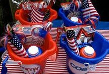 Celebrate America / The 4th of July and Memorial Day Celebration Ideas / by Tutu's Favorites