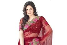 Zarine Khan Exclusive Sarees Collections