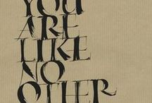 calligraphy / by Jo Packham