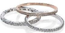 Stack It Up / Diamond wedding rings and stackables