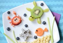 Fun Food / Inspiration to have the kids laughing it up while asking for seconds (politely, of course).