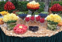 Party! Food / Finger foods, themed food & drink, platters.... party hardy (with food).