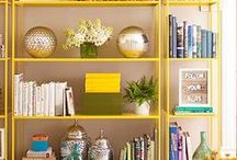 Styling / Styling tips on how to decorate and style a bookcase, table top and more / by Four Generations One Roof