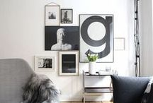 PICTURE WALL / Picture wall ideas for your home.