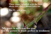 Given Me a Thorn / Tied to GivenMeAThorn.blogspot this board is about living for Christ in the midst of pain, as the Apostle Paul did. You might also like several my other boards at pinterest.com/InfertilityMom such as my ones on purpose, natural health and living with chronic illness.