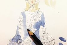 Illustration / fashion drawing / by Blink London