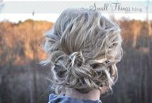 Styling Ideas and Tips / Updos you can do at home, styling techniques, tools to use... / by Deanna Garretson