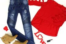 Lo♥e is in the air ... / Valentine's outfit and gift ideas.