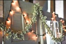 Paper Garland / Garland ideas for parties, weddings, and decor