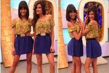 """Andrea's & Kathia's Outfits @ El Tiempo es Oro / Enamórate de los """"Outfits"""" de las modelos Andrea y Kathia del Tiempo es Oro. Disponibles en www.pompisstores.com"""