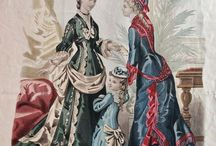 Fashion - 1870-1899 / The fashions for women during this decade.