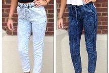 Jogger Pants Obsession! / Great ideas to wear jogger pants!  Jogger Pants by Maripily Jeans