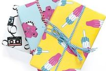 Gift wrapping / Fun gift wrapping ideas