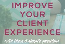 WOW Customer Experience. / Want to build a client base who continue to share rave reviews, referrals, and repeat business? CX is the answer!