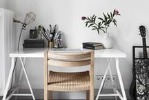 Guest Pinner - Monochrome / Monochrome workspace ideas and products.