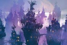 Fantastical Art /  Steampunk, fantasy, dystopia, apocalypse, manga/anime...
