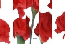 Flowers / Flower Art by Rafael Salazar - Colombian Artist Flores Artísticas Rafael Salazar - Artista Colombiano ~ Collection of Flower Artwork by Rafael Salazar
