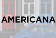 Americana / Red white and blue, american, flag, usa, american flag, july 4th, nautical, independence.