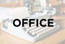 Office / Home office ideas, home office, office decorating ideas, office fun, office space, organized home work space.