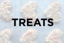 Treats / Dog treats, puppy treats, homemade dog treats, natural dog treats, recipes, healthy and homemade dog treats for your pup.