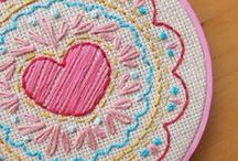 Craft - Cross-stitch / Embroidery /  Needlework / by Gina Helm DeLude