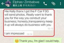 Customer Testimony / Customer Testimony from all over the world!