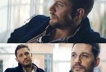 Hardy and Ackles. / Tom Hardy and Jensen Ackles.