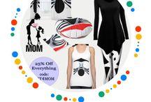Mother's Day Gift Ideas / #mothersdaygifts #art #momsdaygifts #rafaelsalazar #ai #machinelearning #wallart #homedecor #apparel #accessories