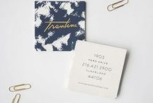 Letterpress | Stationery | Graphic design / Type and letterpress inspiration for brands and gifts.