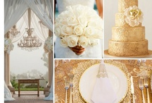 Wedding Copper, Silver, and Gold / wedding colors, gold silver & copper ....