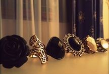 Rings, Rings, & more Rings =D / Jewelry <3 My kind of Bestfriend !