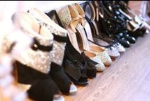 """A girl cannot have """"to many"""" heels ! <3"""