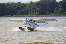 Seaplanes / Anything that flies on floats.