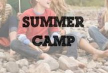 Summer Camp / Games and activities for a weekend camping trip